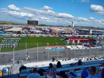 Charlotte Motor Speedway section GM H