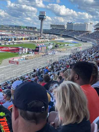Charlotte Motor Speedway section Chry B