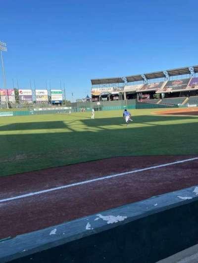 Chickasaw Bricktown Ballpark, section: 101, row: C, seat: 1