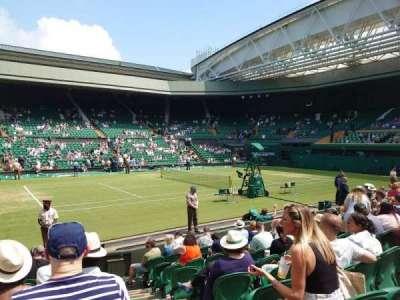 Wimbledon, Centre Court section 105