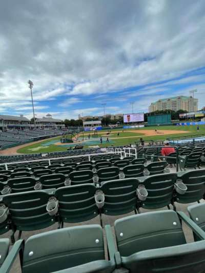 Dr Pepper Ballpark, section: 117, row: 18, seat: 4
