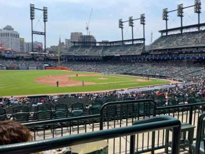 Comerica Park section 137B