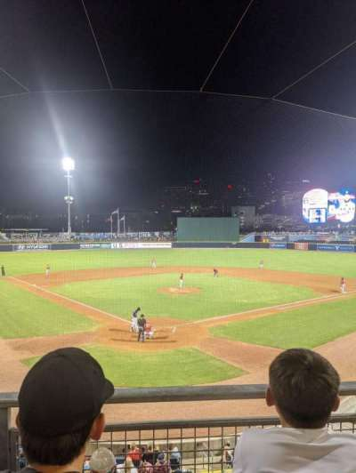 First Horizon Park, section: 209, row: B, seat: 5