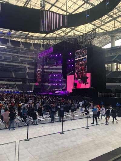 SoFi Stadium, section: VIP132, row: 1