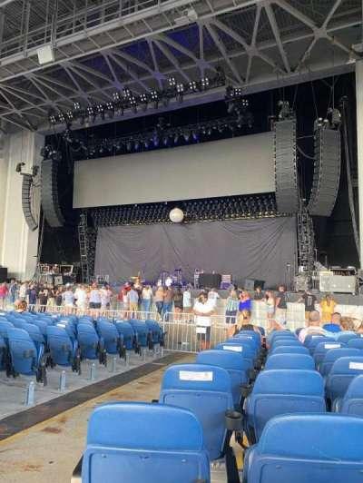 PNC Music Pavilion section 1