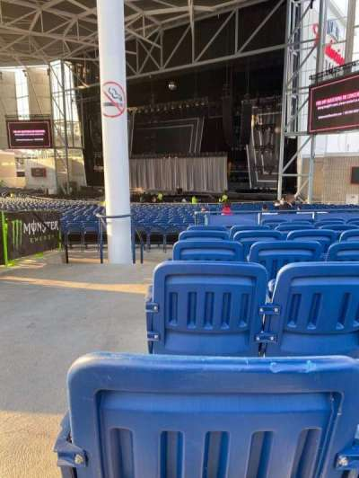 Budweiser Stage, section: 301, row: H, seat: 41