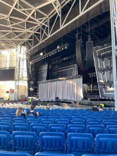 Budweiser Stage, section: 201, row: N, seat: 11