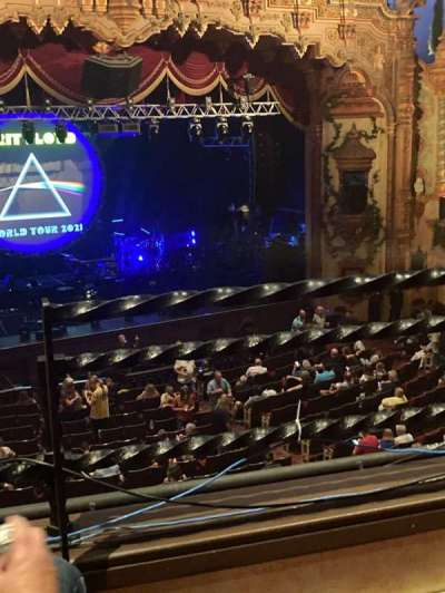 Akron Civic Theater section Loge-1