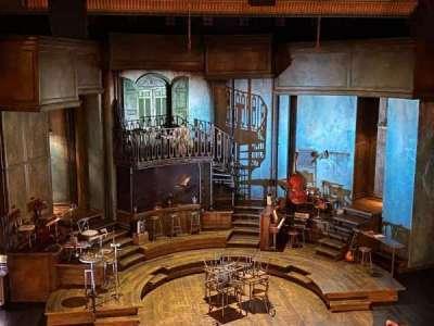 Walter Kerr Theatre section Mezzanine C