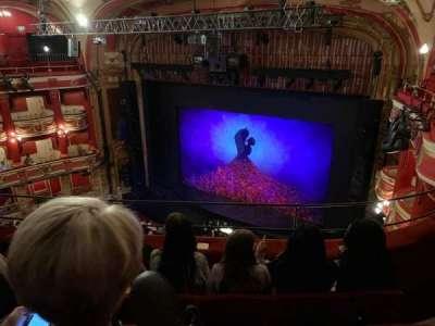 Bristol Hippodrome, section: Upper Circle, row: D, seat: 3