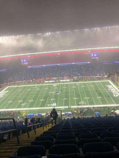 Gillette Stadium, section: 330, row: 23, seat: 4