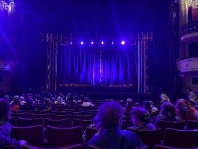 Birmingham Hippodrome section Stalls