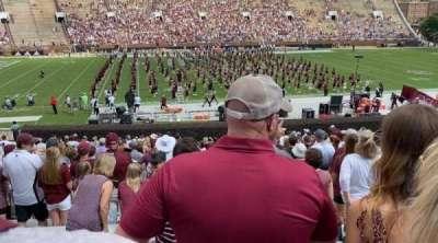 Davis Wade Stadium, section: 05, row: 33, seat: 14