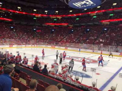 Centre Bell, section: 124, row: B, seat: 6