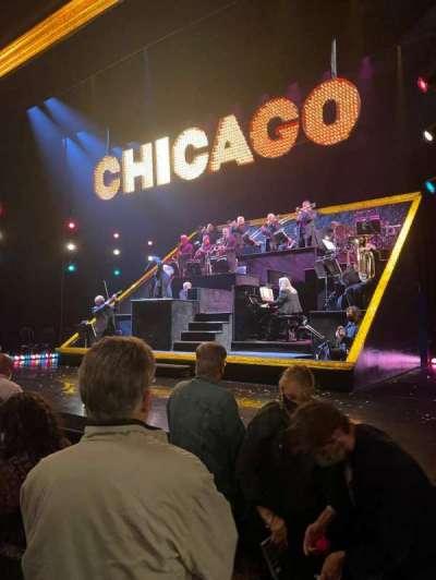 Ambassador Theatre, section: Orchestra R, row: B, seat: 6