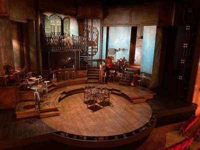 Walter Kerr Theatre section Mezzanine Left
