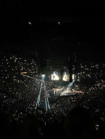 Bridgestone Arena, section: 203, row: j, seat: 13