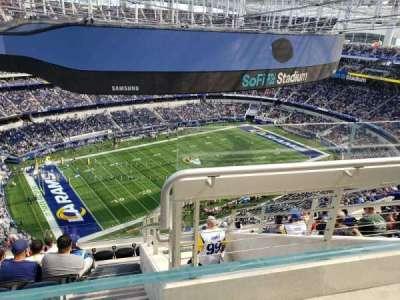 SoFi Stadium section 508