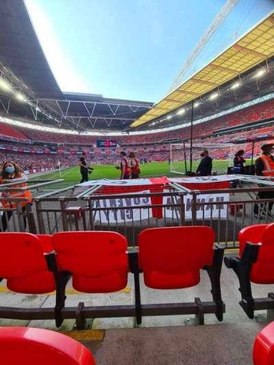 Wembley Stadium, section: 115, row: 3, seat: 87