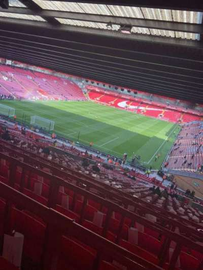 Anfield, section: 208, row: 66, seat: 25
