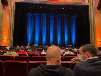 Balboa Theatre, section: Orch, row: J, seat: 113