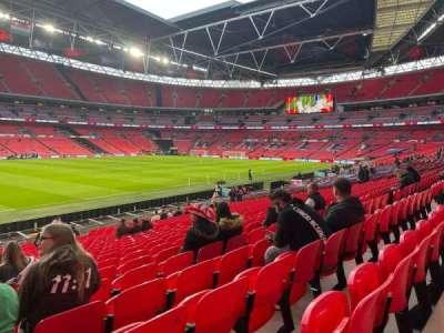 Wembley Stadium section 104
