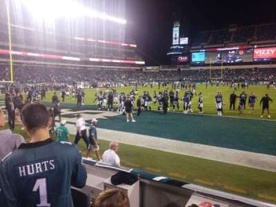 Lincoln Financial Field section 112