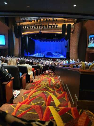 Fox Theater at Foxwoods, section: PRTCTR, row: KK, seat: 138