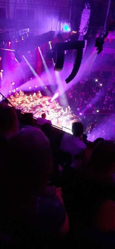 Royal Albert Hall, section: Q, row: 7, seat: 24