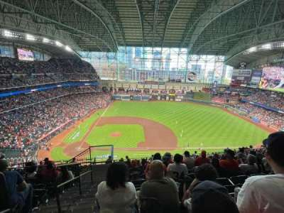 Minute Maid Park, section: 425, row: 7, seat: 1