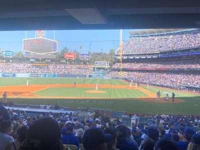 Dodger Stadium, section: 113fd, row: X, seat: 9