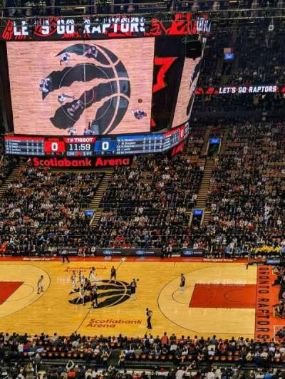 Scotiabank Arena, section: 309, row: 9, seat: 17