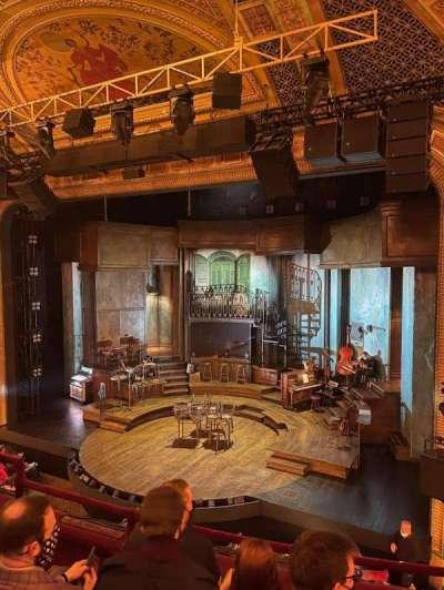 Walter Kerr Theatre, section: Mezzanine, row: D, seat: 12