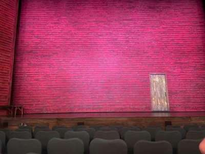 Broadway Theatre - 53rd Street, section: Orchestra center, row: H, seat: 110