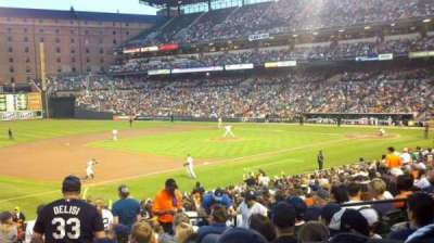 Oriole Park at Camden Yards, section: 60, row: 27, seat: 5-8