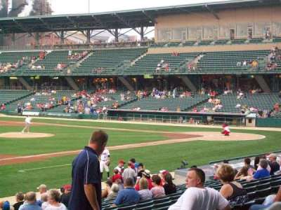 Victory Field, section: 106, row: U, seat: 8