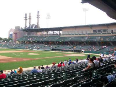 Victory Field, section: 106, row: U, seat: 9