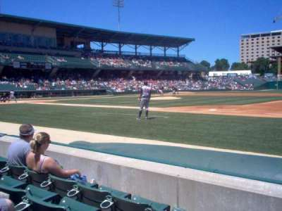 Victory Field, section: 117, row: D, seat: 13