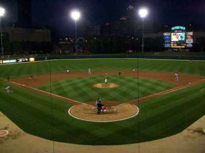 Victory Field, section: 210, row: B, seat: 9