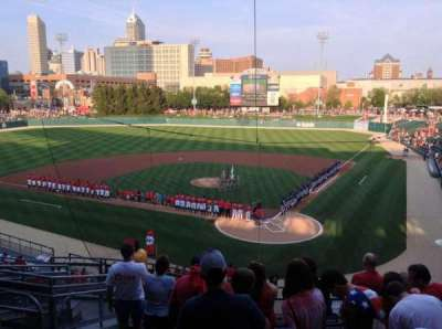 Victory Field, section: 209, row: K, seat: 18