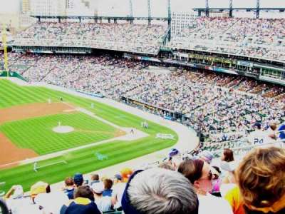 Comerica Park, section: 336, row: 8, seat: 20