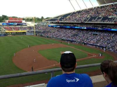 Kauffman Stadium section 408