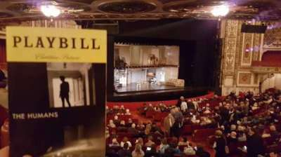 Cadillac Palace Theater, section: Dress circle left, row: JJ, seat: 1 and 3