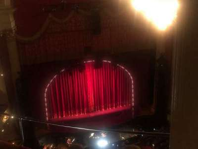 Academy of Music, section: Amphitheater F, row: D, seat: 7