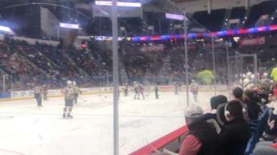 XL Center, section: 106, row: D, seat: 9