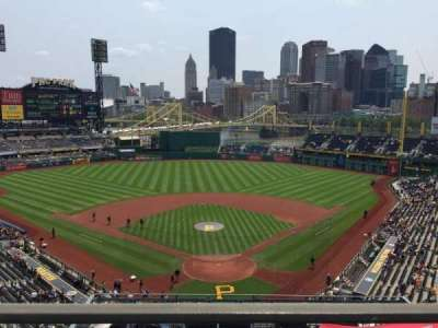 PNC Park, section: 316, row: A, seat: 25