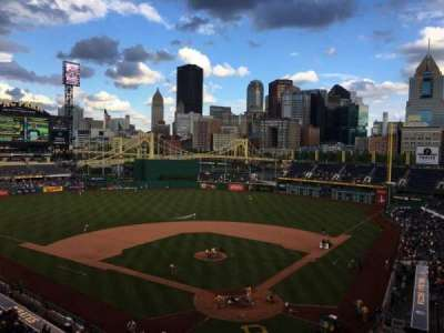 PNC Park, section: 217, row: B, seat: 5