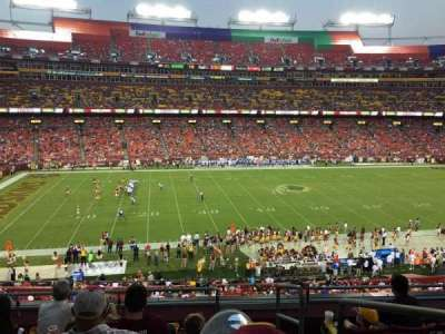FedEx Field, section: 303, row: 6, seat: 1