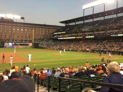 Oriole Park at Camden Yards, section: 56, row: 16, seat: 1