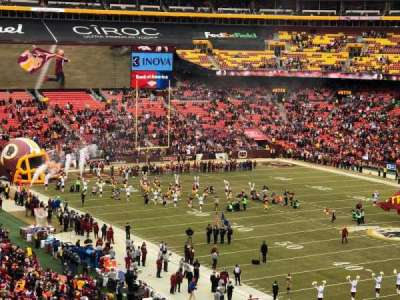 FedEx Field, section: 337, row: 14, seat: 14